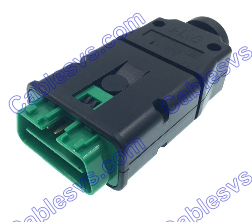 Peugeot  obd2 enclosure plastic obd2 housing only for Peugeot