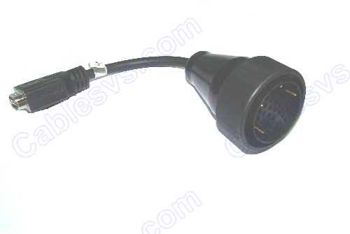 Male 38pin cable