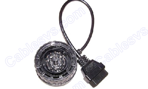 OBD2 female to BMW 20pin male