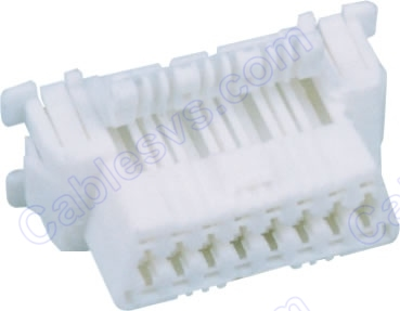 OBD2 female Connector core (white)