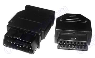 OBD female connector assembly