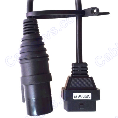 OBD2 female to DB 30pin male for Iveco