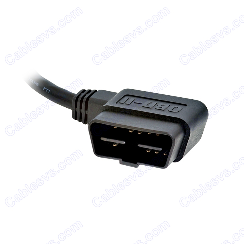 OBD2 male RA to RJ45, 6ft compatible with ScanGaugeII