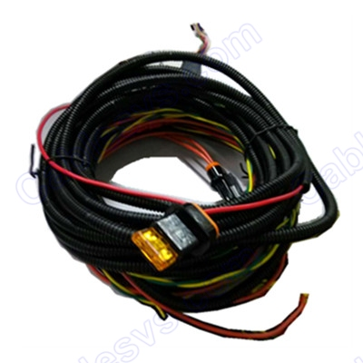 Jbus power cable+fuse