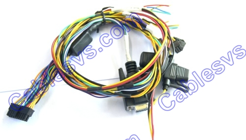 Power and signal Telemetry cable with fuse
