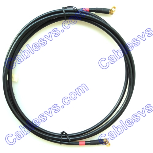 Right angle RF cables SMA to SMA LMR240