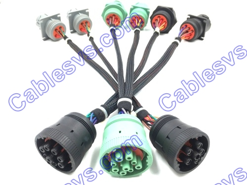J1939&J1708 cables for heavy duty vehicle new type