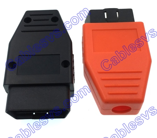 Wholesale Large Voluem Plastic OBD OBD2 Vehicle Enclosure With 16 PIN Male Connector